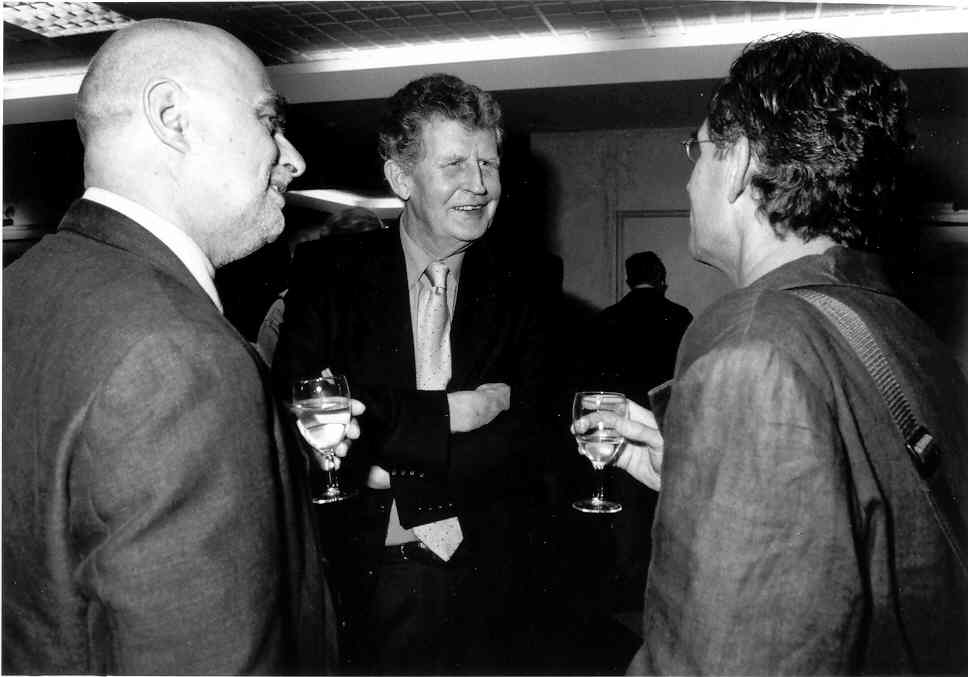 Bruce Haddock, Ken Minogue and David Boucher